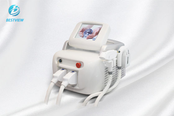 Cina Elight Rf Laser Machine / Nd Yag Laser Hair Removal Machine BM-289 pabrik